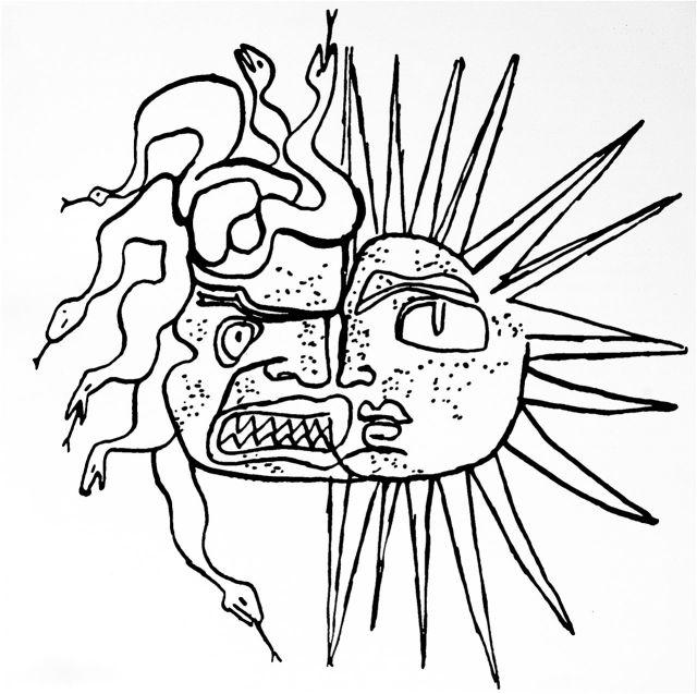 Otra vez la Medusa de Le Corbusier: el lado oscuro y el luminoso de cada ser humano.