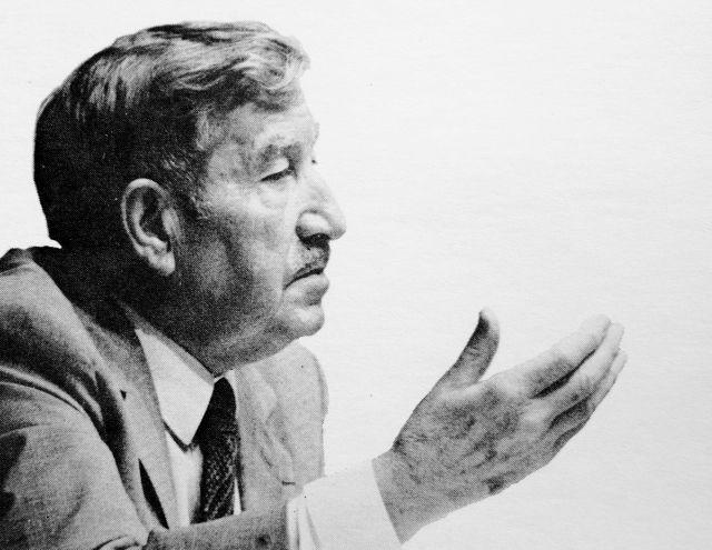 """Claudius Petit en Caracas en 1983: """"Todo programa político se expresa en el dominio de lo construído"""""""