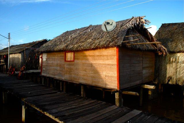 En el Delta del Orinoco hoy, arquitectura con raíces y deseo de mundo. Foto Juan Tenreiro