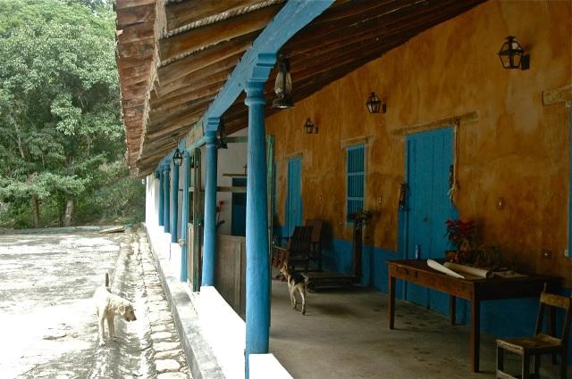 Corredor de hacienda en Choroní: quietud rural en la costa de Aragua, lugar de expansión de Maracay