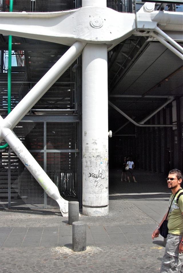 Nodos de fundición alemana en el Pompidou