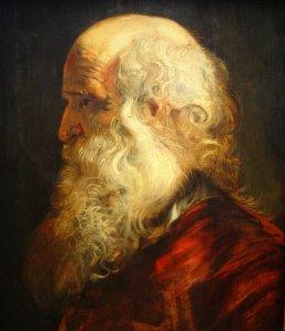 Peter Paul Rubens: Hombre anciano (1655)