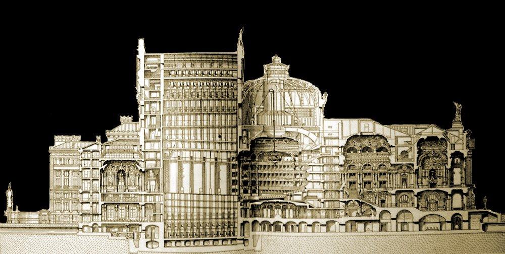 El espect culo ya no es lo que era entre lo cierto y lo - El color en la arquitectura ...