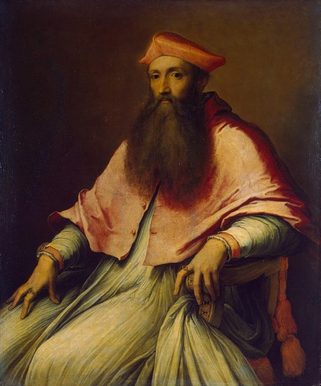 3. Retrato del Cardenal Reginald Pole