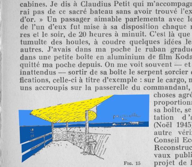 3. Página del Modulor de Le Corbusier