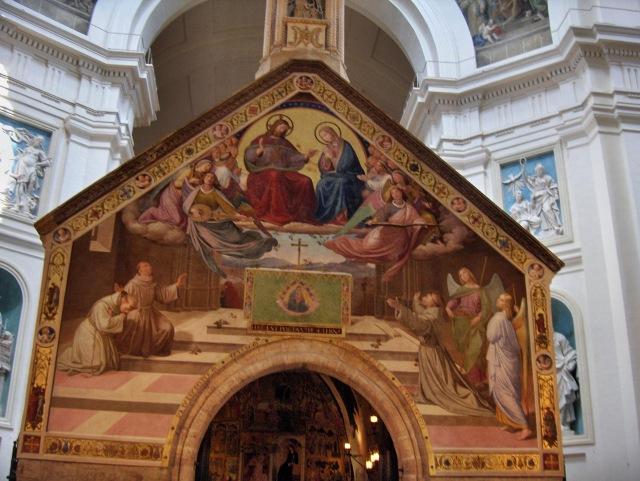 4.Para completar la distorsión, esta ¨decoración¨ del pintor alemán Johann Friedrich Overbeck (1829)