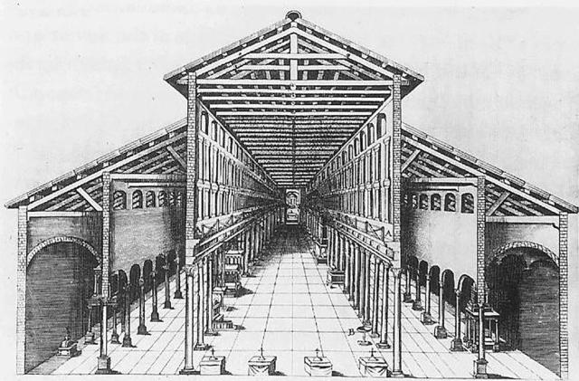 8. Antigua Basílica de Constantino-Interior