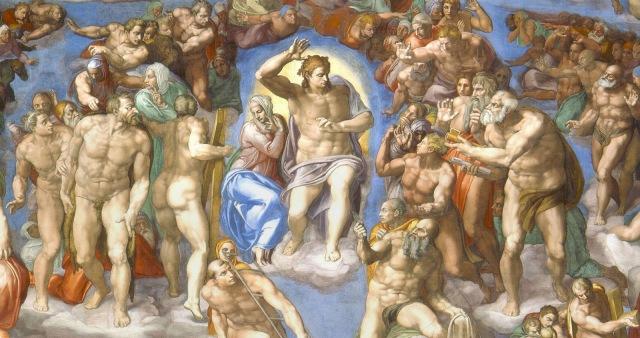 2. Cristo en el Juicio Final de Miguel Ángel