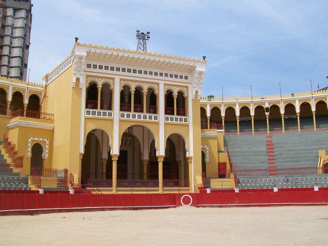 La Plaza de Toros hoy.