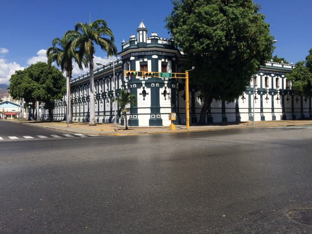 El viejo Cuartel Bolívar