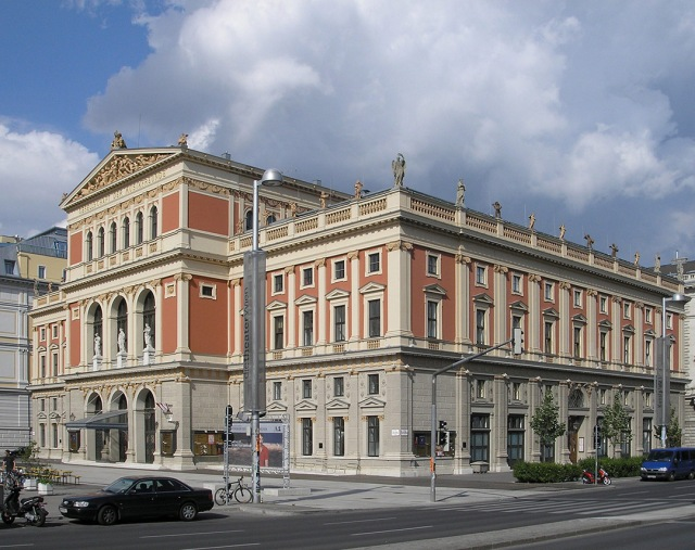 La Musikverein (Asociación Musical) de Viena.