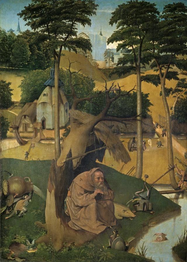 Las Tentaciones de San Antonio de Jerónimo Bosch (1450-1516)