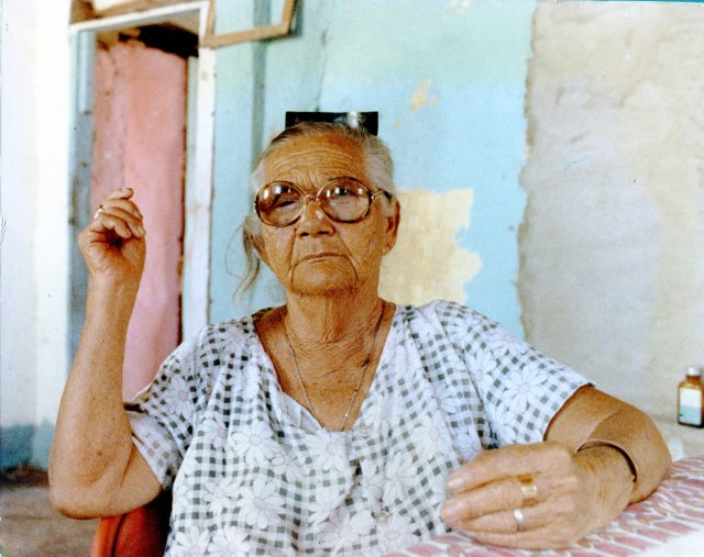 Mercedes Mata, hace casi treinta años.