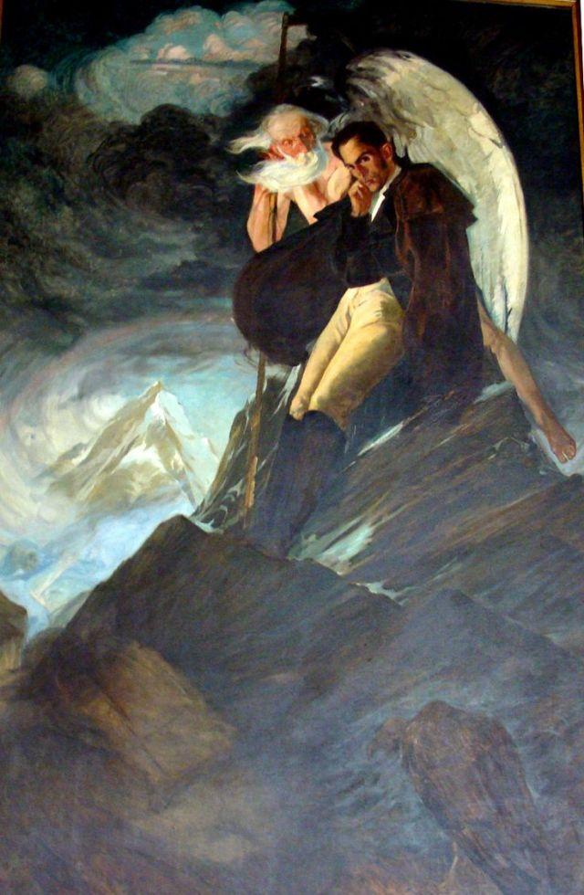 Delirio sobre el Chimborazo de Tito Salas (1929)