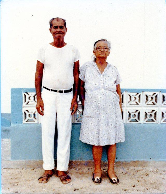 """Mercedes Mata y su marido """"hace casi treinta años"""""""