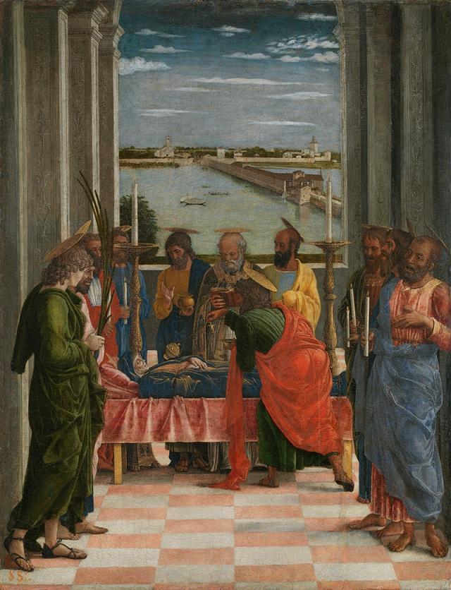 La Dormition de Andrea Mantegna (1431-1506)